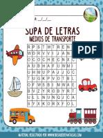 Cuadernillo Sopa Letras