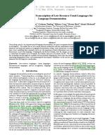 Evaluating Phonemic Transcription of Low-Resource Tonal Languages for Language Documentation
