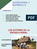 Educacion Rural