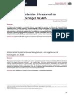 HIC en Cripcocosis Meningea