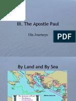 III. the Journeys of Paul