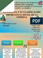4 Presentación La Empresa, Secc. 51, 1-2017