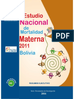 EstudioNacionaldeMortalidadMaterna2011