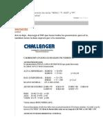 Servicio Challenger