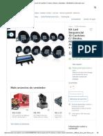 Kit Led Sequencial 10 Canhões C_ Strobo, Rítmico, Automático - R$ 399,99 em Mercado Livre