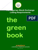The NSE Greenbook - Listing Requirements 072010