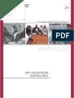 Rift Valley Fever Surveillance