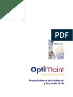 GMAO OptiMaint - Procedimiento de Instalación y de Puesta Al Día