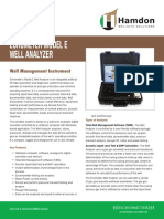 Hamdon Echometer Model E Well Analyzer Brochure