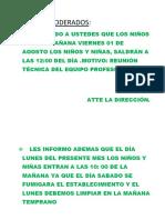 REUNIONES TECNICAS
