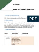 Analyse de La Carto Des Risque de KPMG