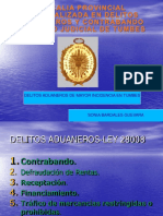 9. Delitos Aduaneros de Mayor Incidencia en Tumbes