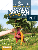 Food Roots Tillamook County Locally Grown Guide 2016