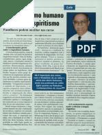O magnetismo humano à luz do espiritismo - Familiares podem auxiliar nas curas  _ Vitor Ronaldo Costa
