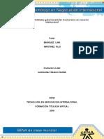 Evidencia 3 Taller Entidades Gubernamentales Involucradas en Comercio Internacional