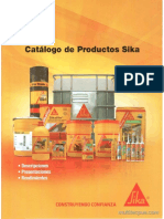 Catalogo Sika 2016