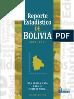 Reporte Estadistico de Bolivia