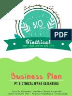 Biothics Business Plan