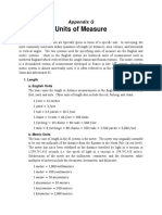 Appendix G - Units of Measure