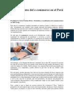 Crecimieto Del Ecomerce Peru