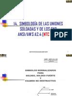 SIMBOLOGÍA DE SOLDADURA