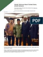 Motivator Bisnis Terbaik, Motivator Bisnis Terbaik Dunia, Motivator Bisnis Terbaik Indonesia