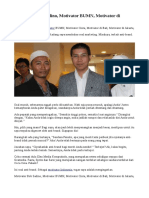 Motivator Bob Sadino, Motivator BUMN, Motivator Di Jakarta