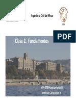 Clase Procesamiento de Minerales III