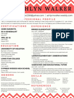 official resume  2
