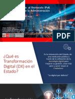 IPv6 6 Plan Transición en el Estado Peruano - Marzo 2018