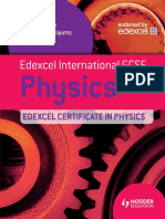 Edexcel International GCSE Physics Student 39 s Book