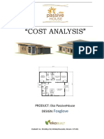 Eko Passivehouse Cost Analysis Aug2016