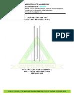 Anggaran Dasar Dan Anggaran Rumah Tangga DLM FIX.
