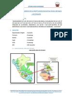 ESTUDIO SOCIOECONOMICO PARA PROYECTOS DE EDUCACION INICIAL