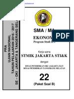 Soal Pra Ujian Nasional Ekonomi Sma Kode b (22) [Pak-Anang.blogspot.com]