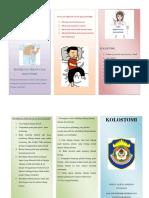 Leaflet Perawatan Kolostomi