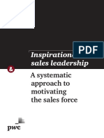 Inspirational Sales Leadership