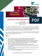 Programa Curso Formación de Jefes y Supervisores de Producción Junio 2018