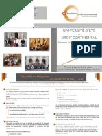 Civil Law Summer University_ Presentation Brochure
