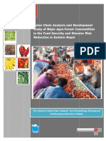 Value Chain Analysis of Agro-forestry Commodities in Nepal