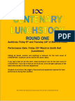 Centenary Lunchstock Poster - 2018