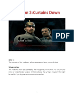 Curtains Down-Intels and Interpretations
