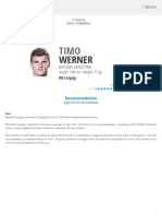 T. Werner - WyScout Report