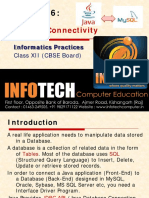 Chapter 6-DatabaseConnectivity Final