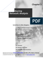 Troubleshoot Network Problems via Network Analysis or Sniffing