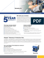 Brady360-5year Warranty Informational Sheet