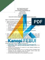 SOAL UTS Analisis Kebijakan Publik B Genap 2016 2017 Fauziah