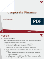 CorporateFinance-Problemset2
