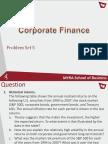 CorporateFinance-Problemset5