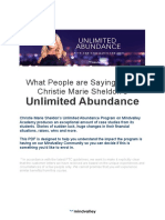 True Tales of Unlimited Abundance